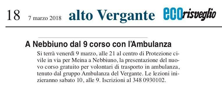 Eco_Risveglio_Arona_18_07-03-2018-Dal-9-marzo-corso-di-formazione-in-Ambulanza-del-Vergante