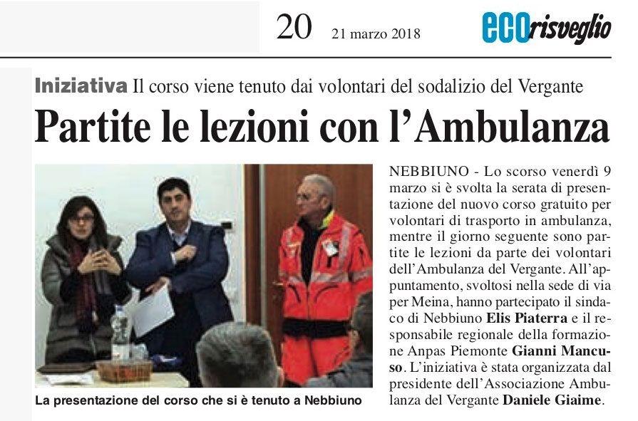 Eco_Risveglio_Arona_20_21-03-2018--Corso-di-formazione-per-il-trasporto-sanitario-edizione-2018