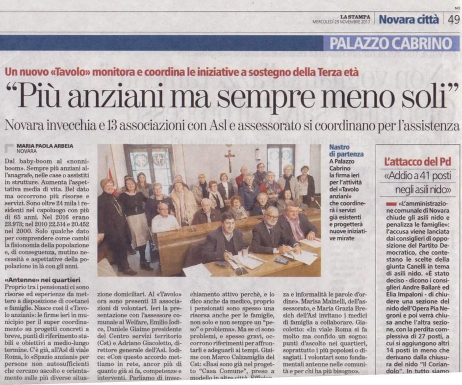 La-Stampa-del-29.11.17-Giaime-Presidente-del-Centro-Servizi-Volontariato-sigla-il-protocollo-Anziani-con-Asl-e-Comune-di-Novara